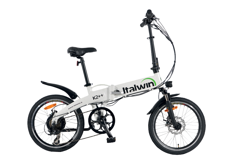 nouveau sélection prix modéré qualité supérieure Bicicletta Elettrica Pieghevole K2++